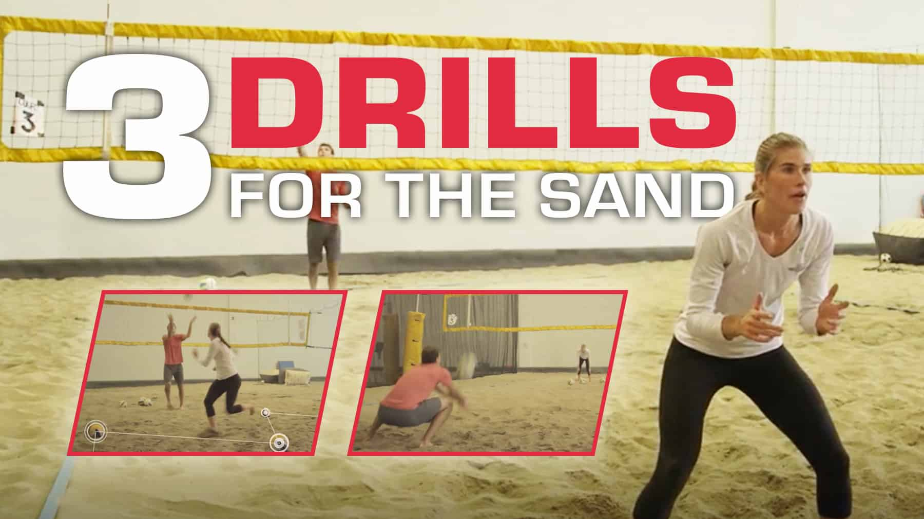 3 Passing Drills For Beach Volleyball