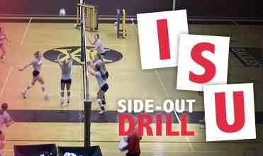 ISU side-out drill
