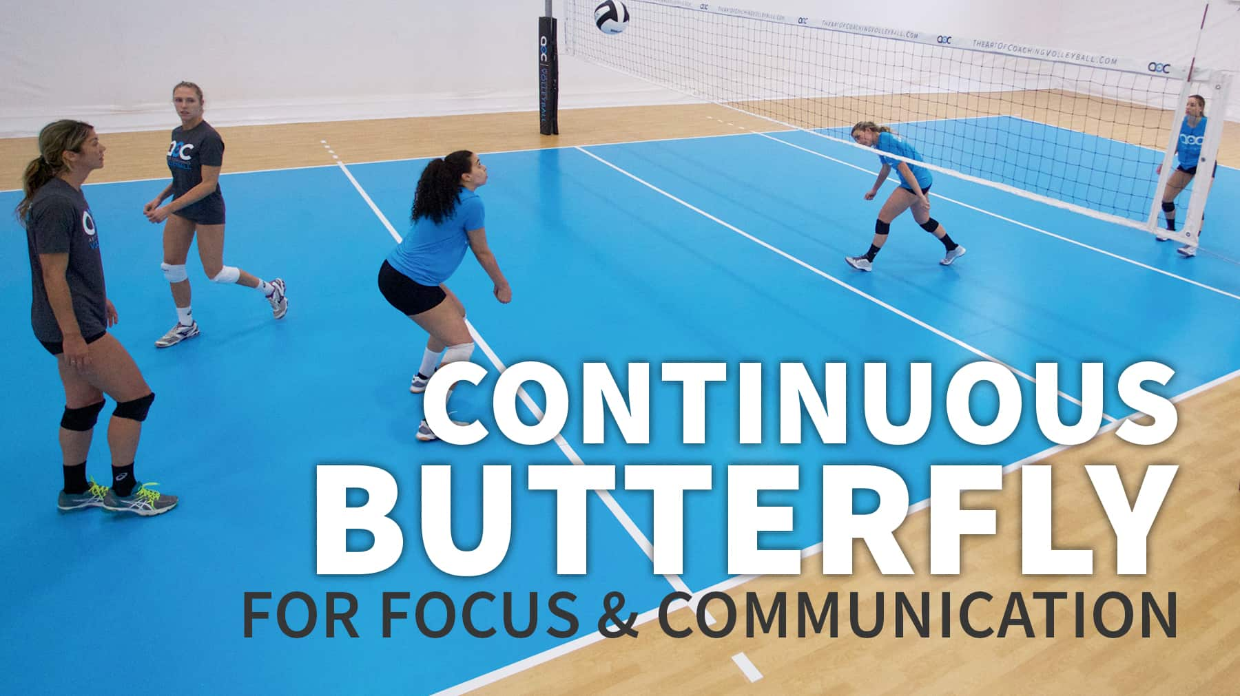Continuous Butterfly To Train Focus And Communication