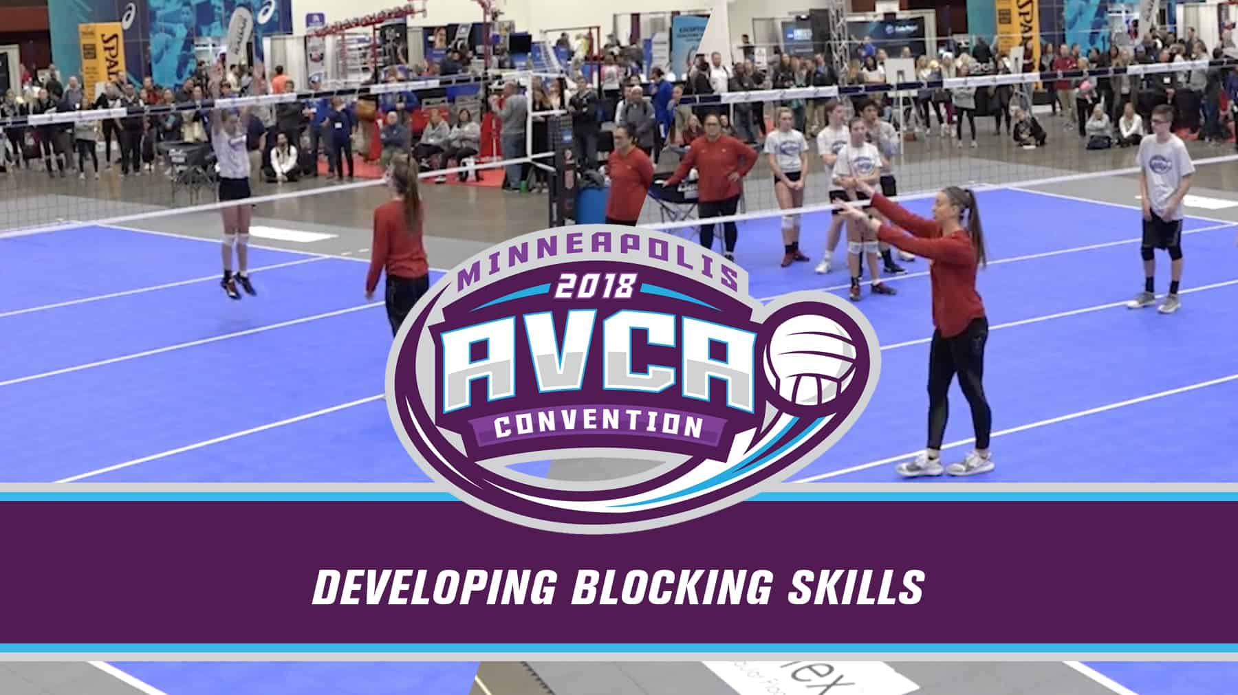 Indoor Developing Blocking Skills