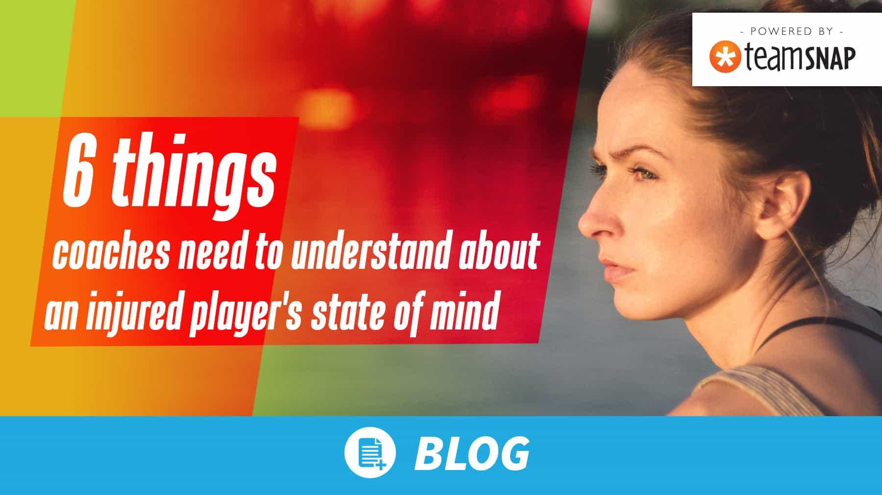 6 things coaches need to understand about an injured