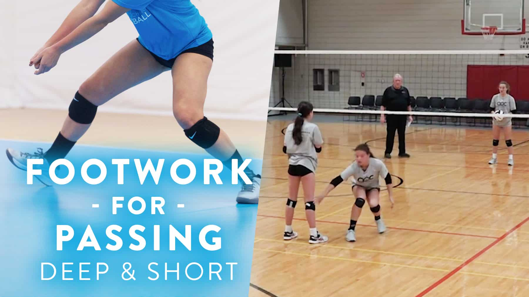 Footwork For Passing Deep And Short