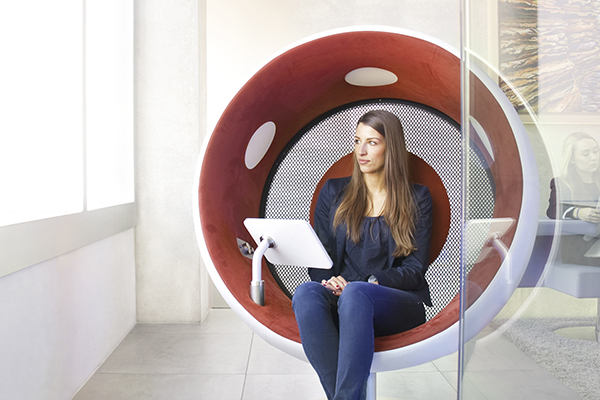 sonic chair  sit inside sound  The Art Of Design Magazine