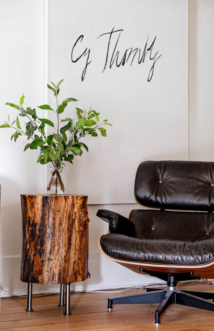 How To Make A Tree Stump Table Diy Tree Trunk Table The Art Of Doing Stuff