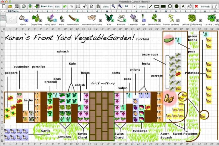 Free Vegetable Garden Planning Software