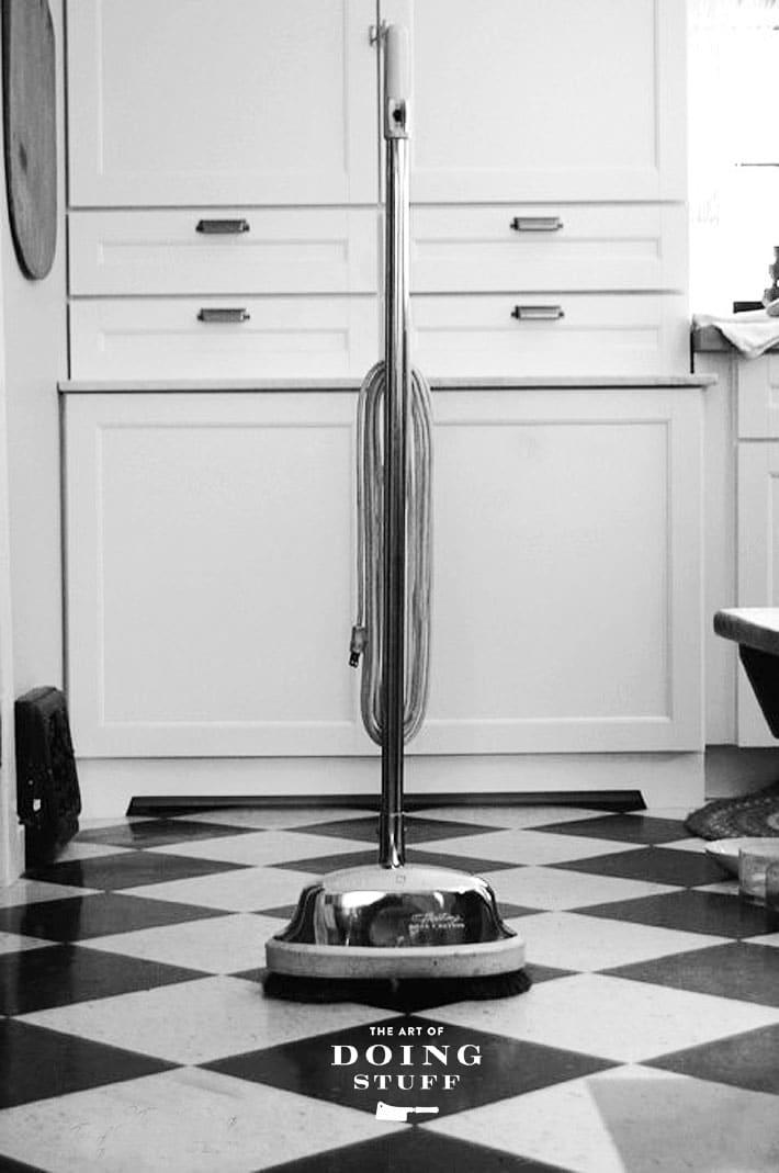 floor burnisher from car polisher