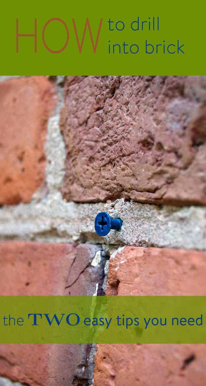 How To Drill Into Brick Wall