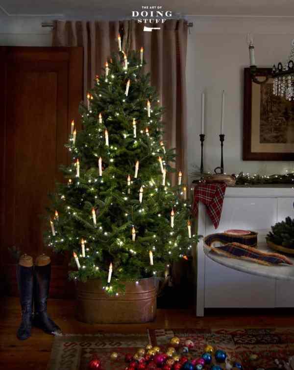 HOW TO MAKE DIY CHRISTMAS TREE CANDLESThe Art of Doing Stuff