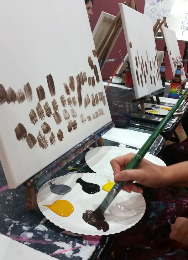Paint and SIP Painting Party Ideas