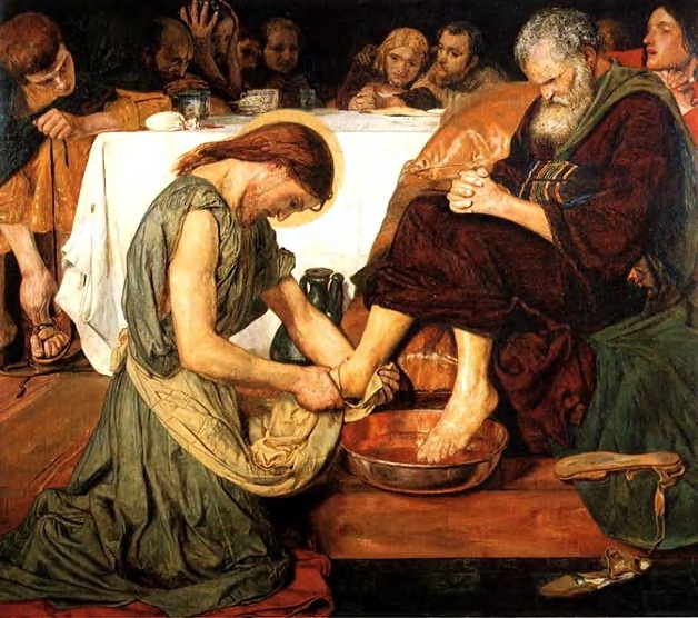 Image result for john 13 jesus washes feet