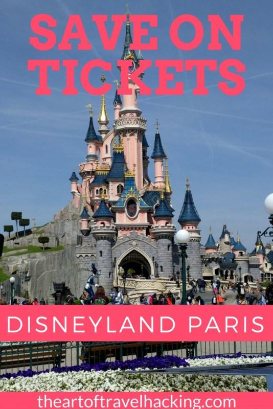 Save on tickets to Disneyland Paris