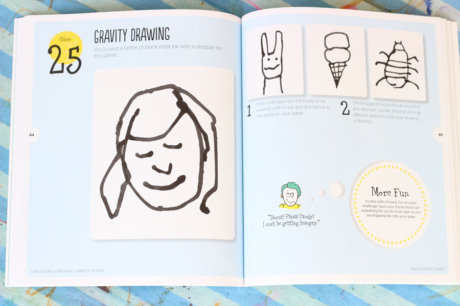 Drawing Games With Jeanette Nyberg - The Art Pantry