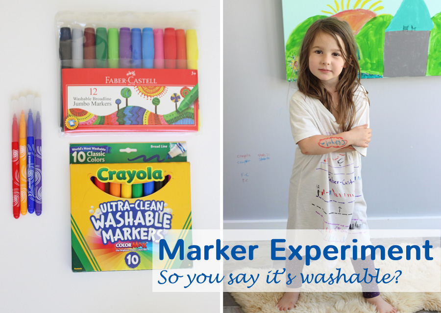 washable marker experiment the art pantry