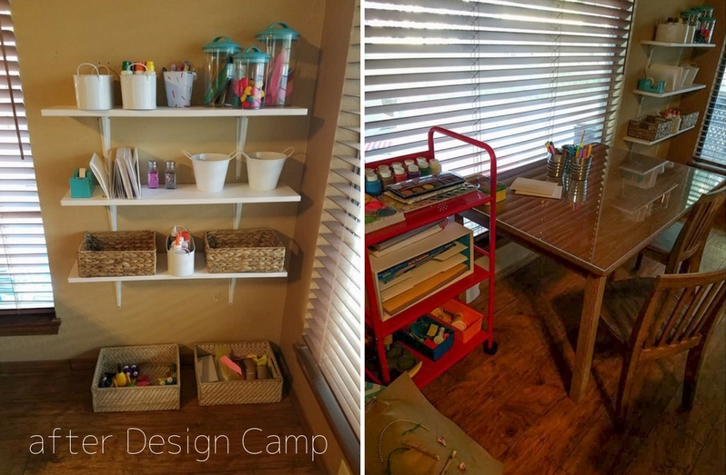 ... But She Wanted More Storage And Felt Like Something Was Off. Through Design  Camp, She Was Finally Able To Create The Space She Was Envisioning.