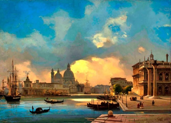 Ippolito Caffi   mostre Venezia