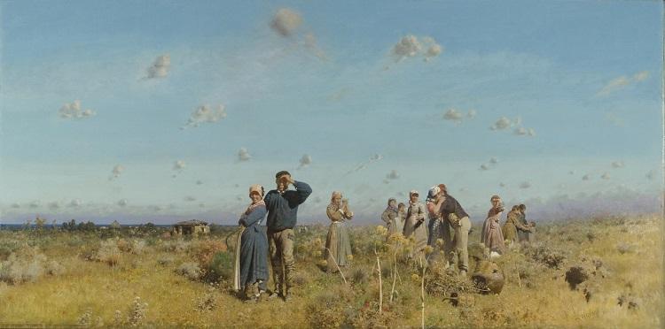Paesaggi e pittori siciliani dellOttocento