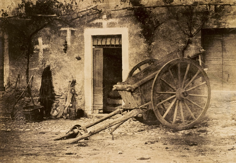 Ox Cart, Brittany by Paul Marès (c.1857 )