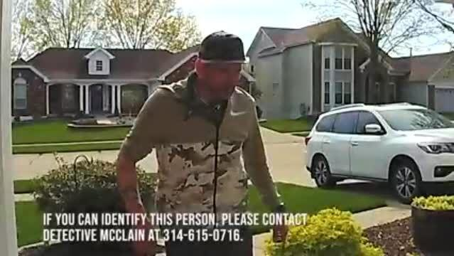 CAUGHT ON CAMERA: Porch pirate wearing camouflage steals Xbox in Wildwood |