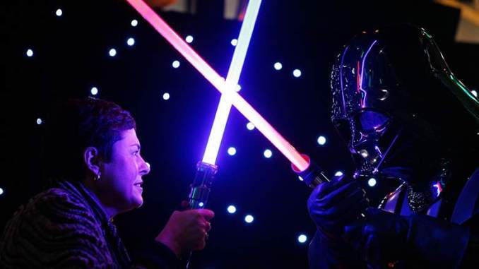 Disney Teased a 'Real' Lightsaber at a Press Conference