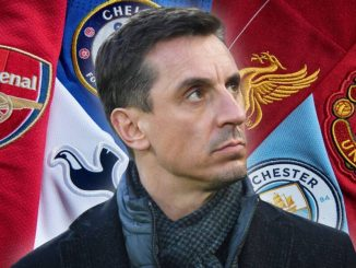 Gary Neville wants Big Six deducted points for breakaway plan