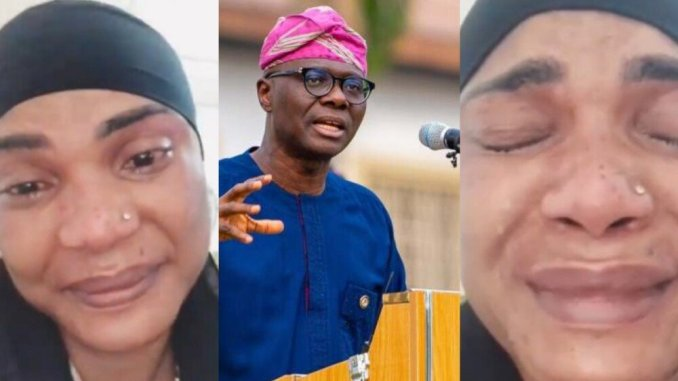 'I am running into serious debt and loss' Iyabo Ojo laments bitterly, begs Sanwo-Olu to address COVID-19 restriction in Lagos (video)