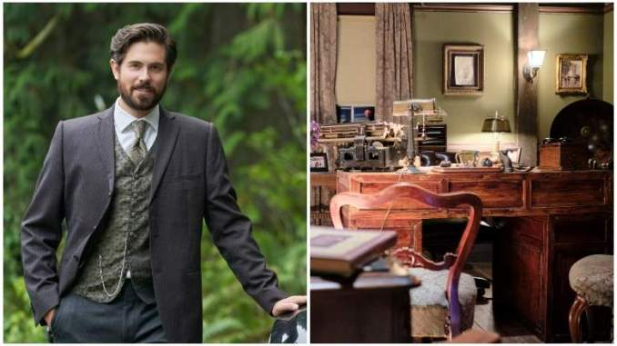 Inside Lucas' Office on When Calls the Heart & What It Reveals
