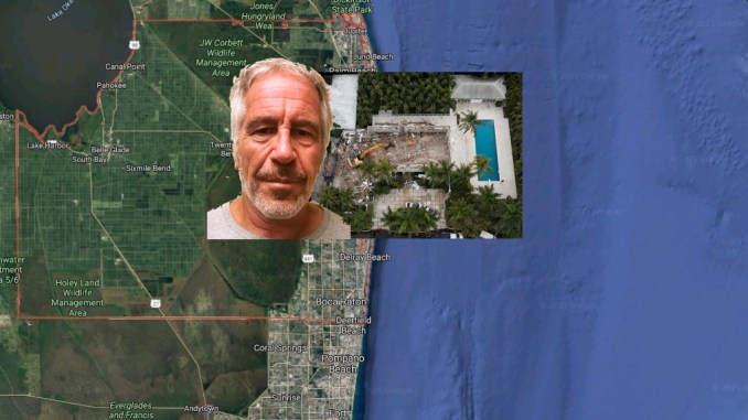Jeffrey Epstein Palm Beach Mansion Reduced To Rubble