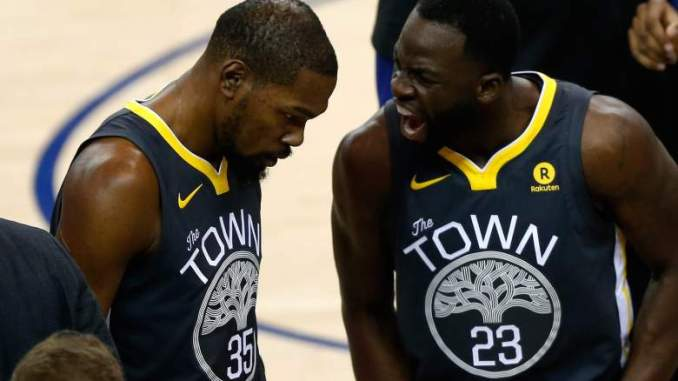 Kevin Durant & Draymond Green Hash Out Their Differences