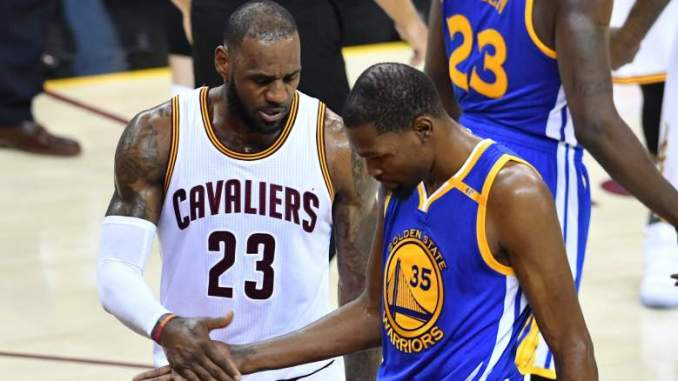 Kevin Durant & LeBron James React to the Death of DMX
