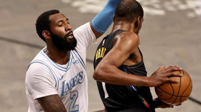 Lakers' Andre Drummond Clears Air After Taunting Nets Veteran