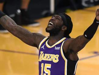 Lakers Guard Dennis Schroder Paying Fine for Montrezl Harrell