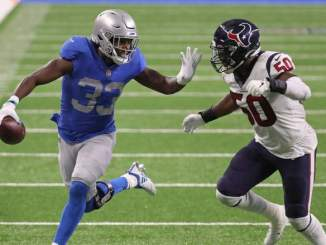 Lions Projected Near NFL's Bottom for 2021 Wins