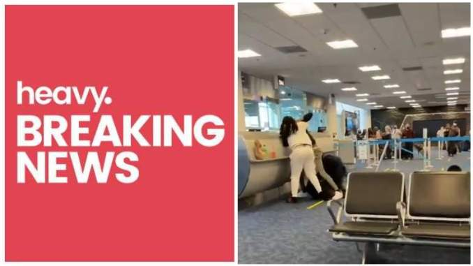 Miami Airport Brawl Over Airplane Seats Caught on Video