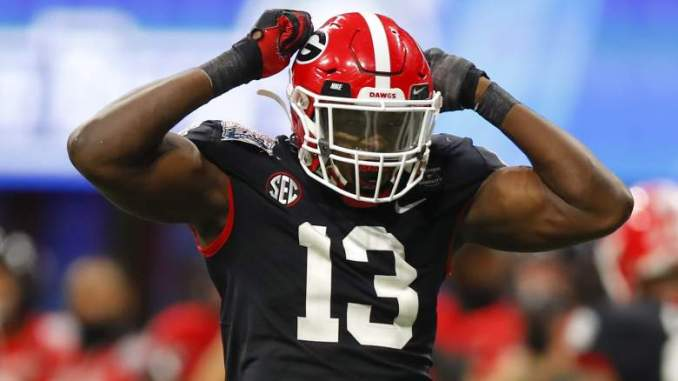 NFL Draft: Falcons Could Target Beast Edge in Round 2