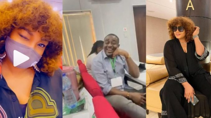 Omotola Jalade-Ekeinde & Emeka Ike finally reunite with each other after years of being apart (video)