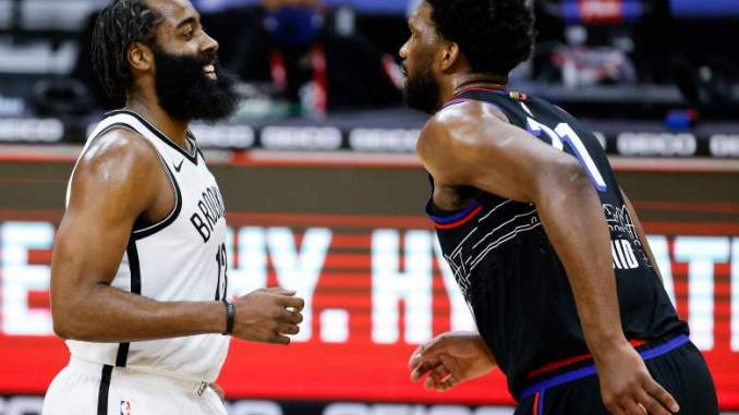 Sixers Star Joel Embiid has Strong Words for Nets' James Harden