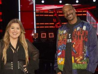 Snoop Dogg & Kelly Clarkson Cry on 'The Voice'