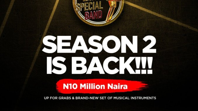 Stand A Chance to Win 10 Million Naira in the Trophy Extra Special Band Season 2