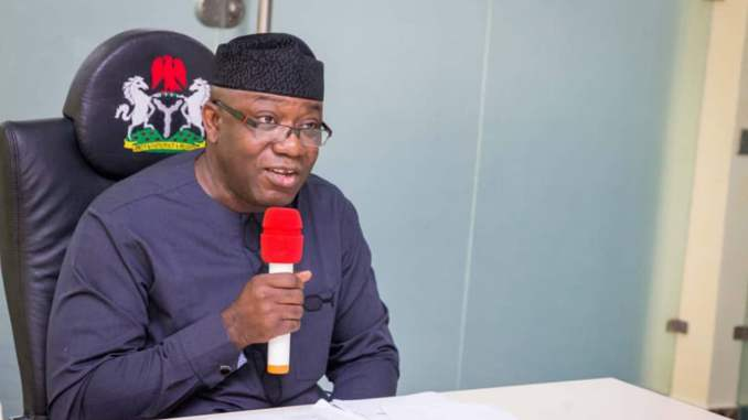 2023: Kick out APC instead of running to Canada - Fayemi tells youths