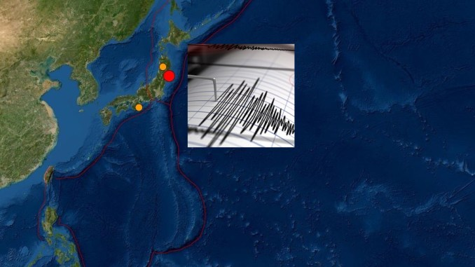 6.8 Earthquake Strikes Near Fukushima Japan Friday