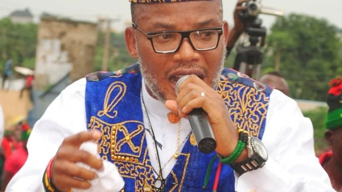 BREAKING: Nnamdi Kanu orders total shut down of Abuja, Lagos, North, Southeast May 30