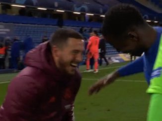 Champions League: Hazard under fire for laughing with Chelsea players after Real Madrid exit