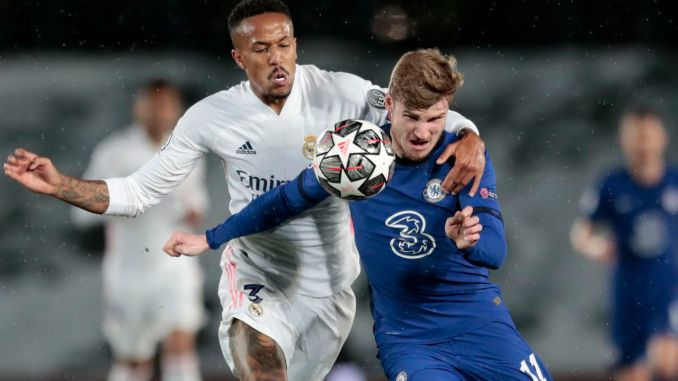 Champions League: Timo Werner sets two records as Chelsea eliminates Real Madrid