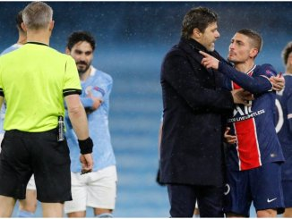 Champions League: UEFA told to investigate referee after Man City dump PSG out