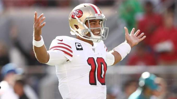 Garoppolo Delivers Strong Message to Trey Lance After Draft