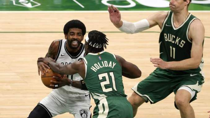 How Kyrie Irving Responded to Poor Performance vs. Bucks