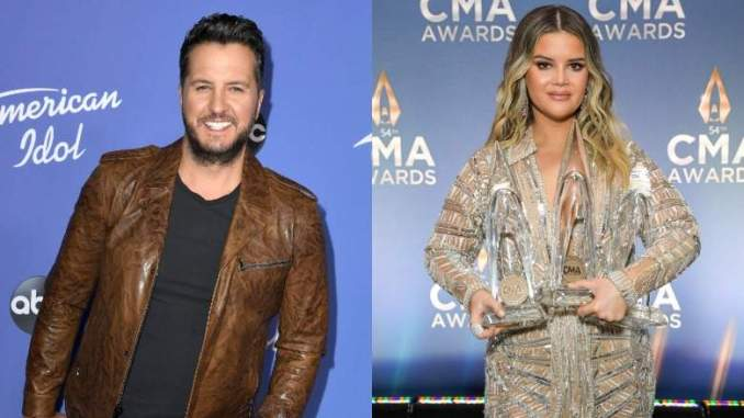 Luke Bryan Reacts to Claim He Fathered Maren Morris's Baby