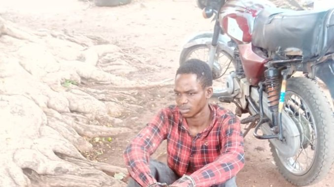 Man arrested with fresh human head, hands in Kwara