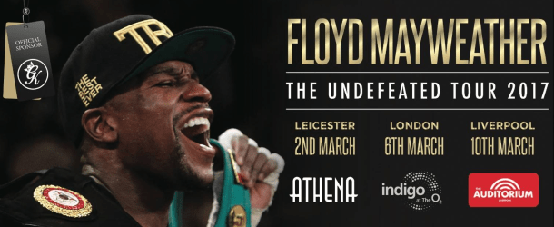 Competition: Win tickets to 'Floyd Mayweather: The Undefeated Tour' at the Echo Arena, Liverpool