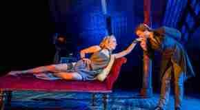 New production images of Natalie Dormerand David Oakes in 'Venus In Fur'
